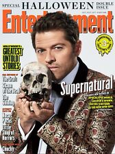 EW Entertainment Weekly NEW Halloween Supernatural Misha Collins Collector Cover