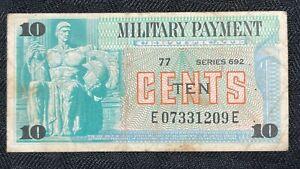 U.S. MPC 10 Cents Lot#A303 Series 692