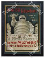 Historic Michelin Man 1898 Advertising Postcard