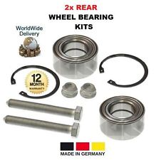 FOR SEAT ALHAMBRA 1.8 1.9 2.0 2.8 TDi V6 1996-2010 2x REAR WHEEL BEARING KITS