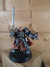 FINECAST WARHAMMER GREY KNIGHTS BROTHER CAPTAIN STERN WELL PAINTED (877)
