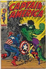 Captain America #110 First App. Madame Hydra 1969, Classic Steranko