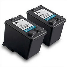 Recycled HP 56 Ink Cartridge C6656AN - PSC 110 1209 1210 1310 1311 1312 2 Pack