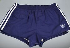 ADIDAS Polyester Shorts! Vintage - Made in Italy - blau Gr.:7 (L) (1401)