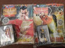 Eaglemoss DC Universe Classic Figurine Collection Shazam and Black Adam BNIB MIB