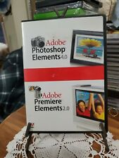 Adobe Photoshop Elements 4.0 & Premier Elements  2.0 W key excellent used