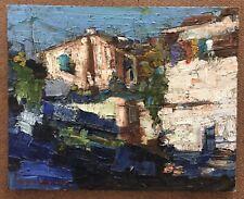 "Original Impressionism Oil Painting 8""x10"" Signed Serguei Novitchkov Certificate"