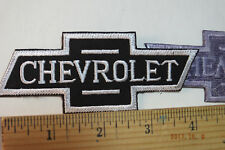 Vintage Chevrolet Chevy Bowtie Iron-On Embroidered Patch 4.25x1.75""