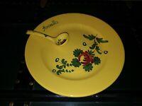 Dish With Spoon, Gravy, Imolarte, Arzella