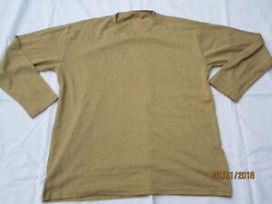 Vest,Long Sleeve Desert,FR, Aircrew,khaki langarm Unterhemd,Gr. 36inch