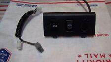 05-09 Scion tC Center Console Outlet Socket Stereo iPOD AUX USB Port Cover Unit