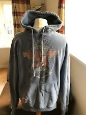 Superdry Japan Vintage 66 Men's Hoodie, Grey blue, Size M