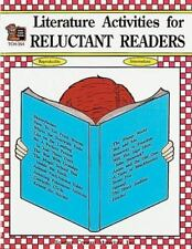 Literature Activities for Reluctant Readers TCM 354 ideas for over 20 books Kids
