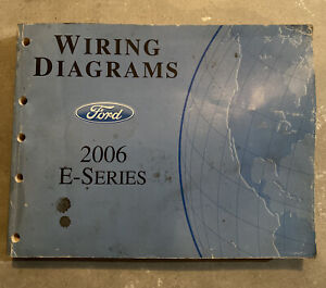 2006 Ford E-Series Econoline Van Wiring Diagrams Schematics Drawings