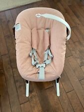 Stokke Tripp Trapp Newborn Set- Coral, Toy Hanger & Non-slip Covers Included