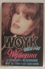 THE JUDDS - OLD WYNONNA JUDD TOUR CONCERT CLOTH BACKSTAGE PASS