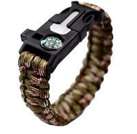 New Camping Equipment, Multifunctional Outdoor Lifesaving Bracelet