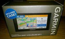 "GARMIN DriveSmart 51 LMT-S 5"" Sat Nav & Case - Lifetime Map Updates UK & ROI"