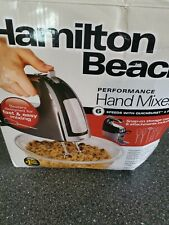 Hamilton Beach Black 6 speed Hand Mixer with Pulse Function Black