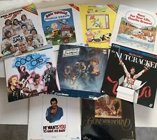 Vintage Lot 9 Laserdisc Movies