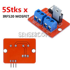 5 X TOP MOSFET Button IRF520 MOSFET Driver Module For Arduino ARM Raspberry pi