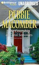 Debbie Macomber COURTSHIP OF CAROL SOMMARS Unabridged CD *NEW* FAST Ship!