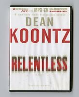 Relentless by Dean Koontz - MP3CD - Audiobook