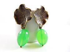 Ovale Mode-Ohrschmuck aus Bronze