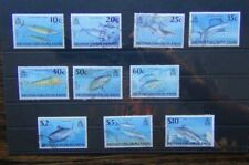 British Virgin Islands 1997 Game Fish values to $10 Used