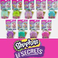 Shopkins Lil' Secrets - Secret Lock Playsets - Up To 9 Versions Age 5+ Free P&P