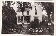 RPPC Van Buren, AR - Home of Bob Burns