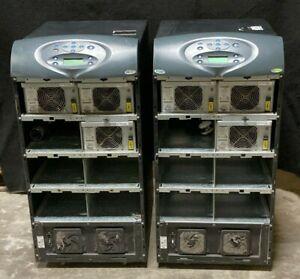 Lot of (2) Liebert Nfinity 16 KVA UPS/Battery Backup N108F0512600WM W/ Breaker