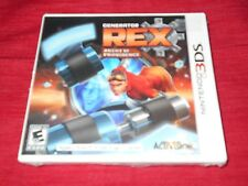 GENERATOR REX: AGENT OF PROVIDENCE  NINTENDO 3DS  FACTORY SEALED!!!  FAST SHIP!!