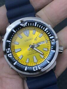 Rare SEIKO Prospex Baby Tuna Yellow Butterfly Fish SRPD15K1 #/2200