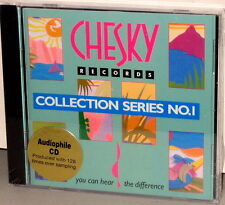 CHESKY CD PJD 1002: SAMPLER Various - Collection Series No. 1 - OOP 1993 USA SS
