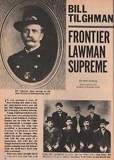 U. S. Marshal Of The Last Frontier, Bill Tilghman
