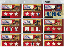 2008 TOPPS TRIPLE THREADS COMPLETE SET W/AUTO'S AND VARIATIONS ROBINSON CANO