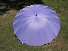 Lavender  Wedding Umbrella 16 Panel Classic Design 60 Inch covers 2 adults