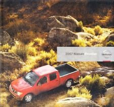 2007 07 Nissan Frontier original sales brochure mint