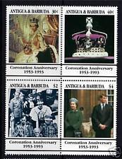 Antigua 1993 40th Ann. of Coronation SG 1772/5 MNH