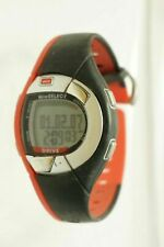 MIO Drive ECG Accurate Heart Rate Monitor Red/Black Rubber Watch Digital
