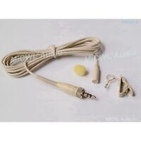 Beige Lavalier Lapel Microphone for Sennheiser EW100 300 500 ME2 G1 G2 G3 G4