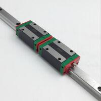 HIWIN 30mm HGR30 Linear Rail Guideway 600mm&HGH30CA Rail Block for CNC Milling