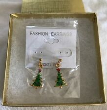 Christmas Tree Earring - New