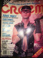 Creem Judas Priest Eurythmics Lou Reed Huey Lewis Duran Duran Alarm Black Flag