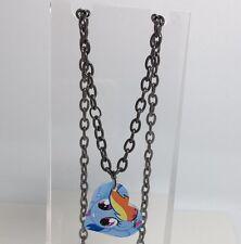 Blue Rainbow Dash Collana con Ciondolo Cuore Charms G067 Kitsch My Little Pony