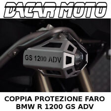 COPPIA PROTEZIONE FARI SUPPLEMENTARI DS BIKE BMW R 1200 GS ADVENTURE