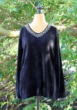 Stiches Black Long Sleeve Beautiful Detailed Sequin Women S New!