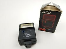 Vivitar 2000 Electronic Flash in original box - Free Shipping