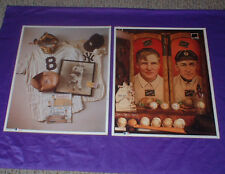 1993 THE PERFECT GAME NO. 7 & CHRISTY MATHEWSON & TY COBB NO. 11 LICENSED PHOTOS